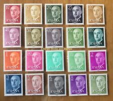 EBS Spain España 1955-6 Generalissimo Francisco Franco, El Caudillo 1040/1083**
