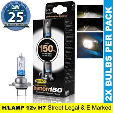 Ring Xenon 150 H7 55w Upgrade Headlamp Light Bulb White 3700k RW1577 477 499