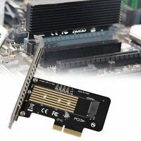 M-Key M.2 NVME NGFF SSD to PCI-E  X4 X8 X16 Converter Card For Windows Mac OS