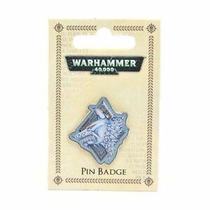 Warhammer 40K Space Wolves Enamel Pin Badge (official merch)