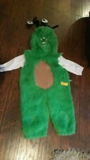 Halloween Costume Silly Green Monster Toddler Kids Size Medium 3-4 Years