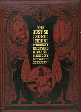 1903 - The Just So Song Book.  Rudyard Kipling.  With scarce dust-wrapper.