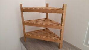 ~~~GREAT PRICE~~~ 😉 Natural Oak slatted shelving unit - End on line - REDUCED