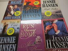 Nice large lot of Jennie Hansen paperback novels one of them signed