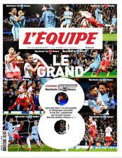 L'Equipe - MANCHESTER CITY- AS MONACO 5-3 (22/02/2017)- LE GRAND HUIT MBAPPE