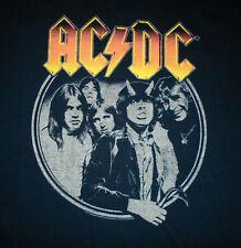 AC/DC Band T-Shirt * GET IT HOT * Vtg BLACK Heavy Metal Rock N Roll Mens NEW 2XL