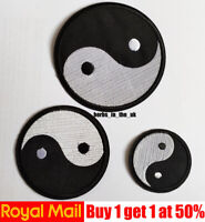 Yin Yang  tai chi and YinYang Patch Badge Iron On Sew On Yin and Yang
