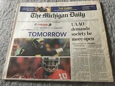 MICHIGAN DAILY University Of Michigan Football Ohio State 11/27/06 THE GAME