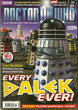 RARE Back Issue - DOCTOR WHO MAGAZINE #447 - fold out DALEKS Cover - Very Cool!