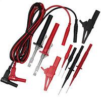 New DMM Probe Kit Test Lead Clip Kits For Multimeter Car Circuit Test