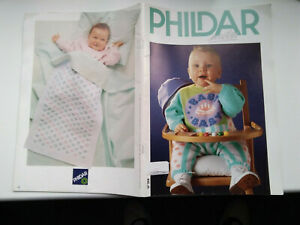 Phildar  Baby  Knitting  Pattern  Book  No. 208   Beautiful baby outfits to knit