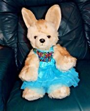 Build A Bear Foxy Lady - Fennec Fox In Sequined Party Dress. Wwf Tag