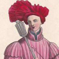 Sergent d'Armes Règne Charles VII