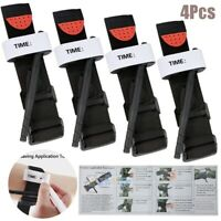 4 Tourniquet Rapid One Hand Application Emergency Outdoor First Aid Belts Buckle