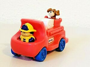 2004 Burger King Little Tikes Firetruck Fire Truck with Dog Toddler Toy