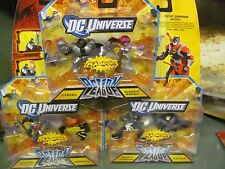 DC Universe Action League 3 2-packs Cyborg Wonder Woman Batman Aquaman more++