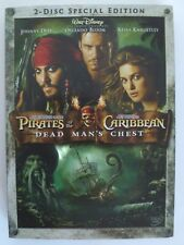Pirates of the Caribbean Dead Man's Chest 2006 Special Edition 2 Disc DVD Widesc