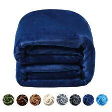 King Fleece Blanket for The Bed Super Soft Warm Fuzzy Plush Lightweight Blanket