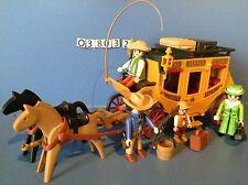 (O3803.2) playmobil Diligence cow boy, western ref 3803