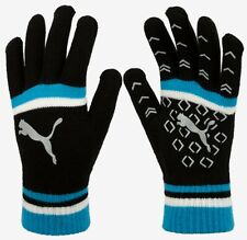 PUMA Unisex CAT LOGO Magic Knit Gloves Fleece Blue Black Run GYM Glove 04167705