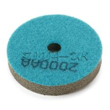 5pcs 2000 Grit Blue Sponge Diamond Polishing Pad For Marble Stone Polisher