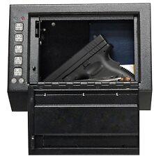 Gun Safe Cabinet Box Case Handgun Pistol Wall Mount Electronic Security Storage