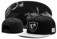 New Hip Hop Men's CAYLER Sons Hat adjustable Baseball Snapback Black Street caps