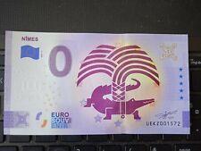 BILLET EURO SOUVENIR 2021-7 NÎMES