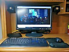 Mini Speaker Shelves for PC Speakers Dark Brown - 2pcs