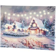 Winterliche Weihnachtsbilder.Led Weihnachtsbild Günstig Kaufen Ebay