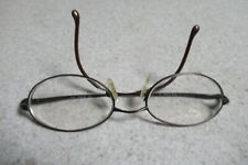 GUCCI Vtg Wire Frame Eyeglasses with snap on Gucci Sunglasses GG2649 48 18 135