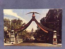 Eagle Gate,  Salt Lake City, Utah street view postcard