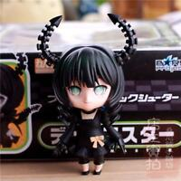 NEW #128 Black Rock Shooter Dead Master Q version Action PVC Figure Anime Toy