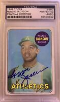 1969 TOPPS Reggie Jackson AUTO ROOKIE RC #260 PSA DNA  HOF Hall Of Fame BGS ?