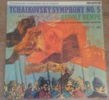 HMV ALP 1800 GOLD/RED TCHAIKOVSKY sym no.5 in E minor KEMPE 1960 UK MONO VINYL