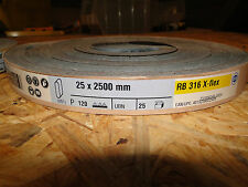 Hermes Schleifband 25 Stück  RB 316 X flex   P 120   25x2500mm