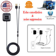 AUX-in Bluetooth Wireless Receiver Adapter Dongle for Car Stereo Audio Player hp