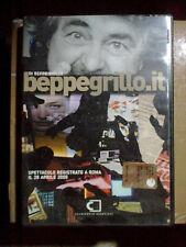 BEPPE GRILLO.IT - DVD 2005 - 148 Minuti COME NUOVO Spettacolo di ROMA 28.4.2005