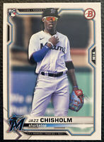 Jazz Chisholm 2021 Bowman Baseball RC Rookie Card #71🔥🔥📈📈