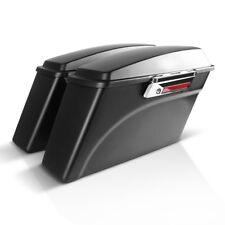 Borse Rigide Laterali per Harley Davidson Modelli Touring 94-13 nero opaco