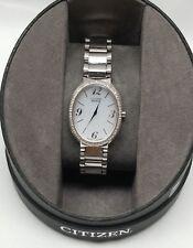 Citizen Eco-Drive Women's Wrist Watch (B023-S082889) (2D1020490) (GN-0-S-9)
