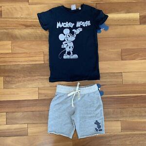 **NWT** Disney Mickey Mouse Junk Food Shirt And Shorts