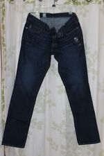 Abercrombie&Fitch Vintage Men's Low-Rise Skinny Jeans Dark Indigo RARE NEW 32x32