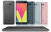 LG V20 LS997 Sprint Android 7 64GB 16MP Smartphone Great Silver Titan Gray