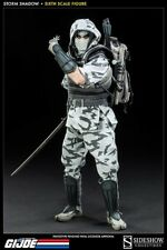 Sideshow Excl GI JOE Storm Shadow Ninja Cobra Figure NOT Hot Toys Snake Eyes