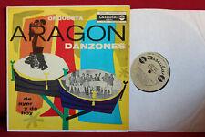 Orquesta ARAGON Danzones de Ayer y de Hoy; LP Discuba mono (ED1), NM