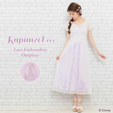 Disney Rapunzel Embroidery long dress for ladies secret honey