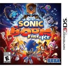 Sonic Boom: Fire & Ice --(Nintendo 3DS, 2016)