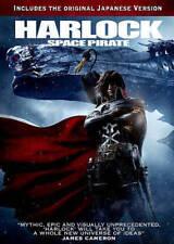Harlock: Space Pirate (DVD, 2015) NEW