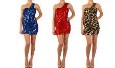 Markenlose Damenkleider mit One Shoulder-Ausschnitt für Cocktail-Anlässe